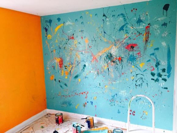 Paint Splatter Bedroom Walls Www Indiepedia Org